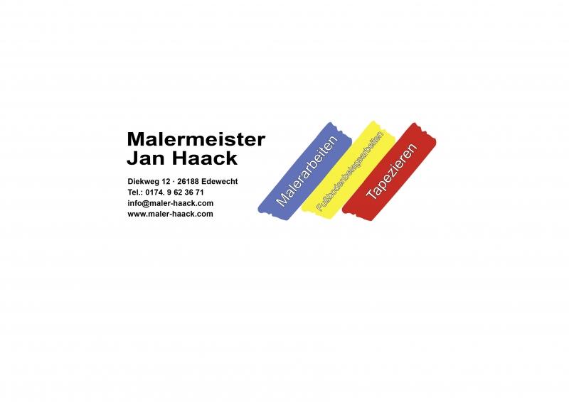 Malermeister Jan Haack Logo