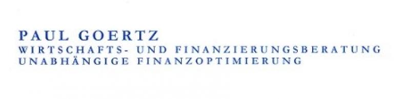 PAUL GOERTZ - Wirtschafts- & Finanzierungsberatung Logo