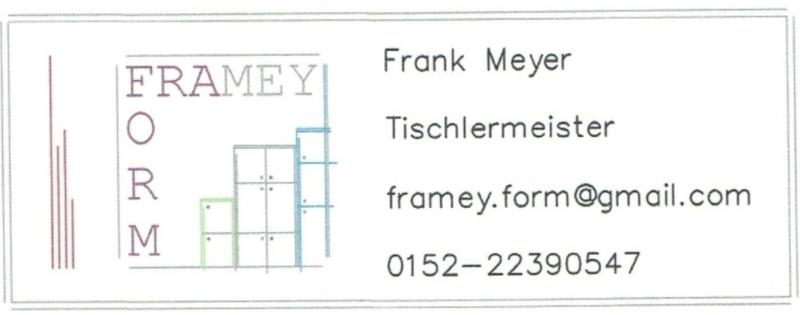 Framey-Form Mobile Tischlerei Logo