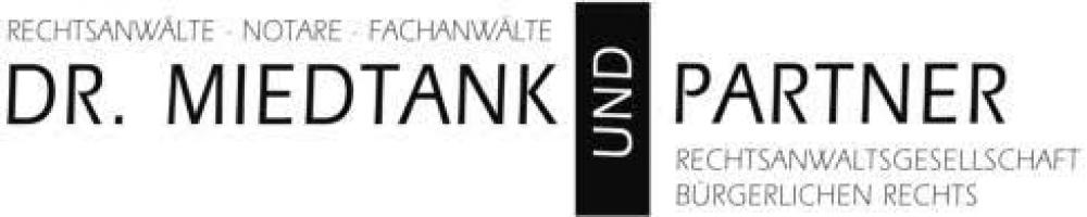 Dr. Miedtank und Partner Rechtsanwaltsgesellschaft bürgerlichen Rechts Logo