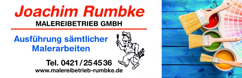 Malereibetrieb Joachim Rumbke GmbH Logo